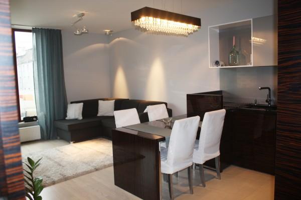kuchnia - jadalnia - salon