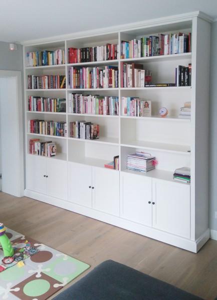 szafa z książkami