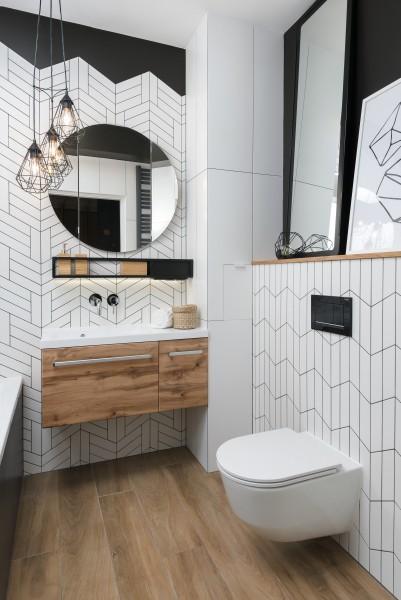 stylowa toaleta